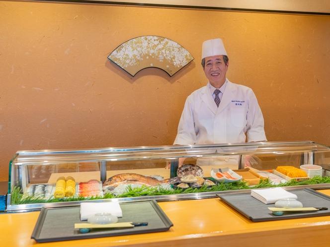 鮨処<八一>丁寧な仕事がなされた寿司とともに、職人の接客力・人間味もお楽しみください。