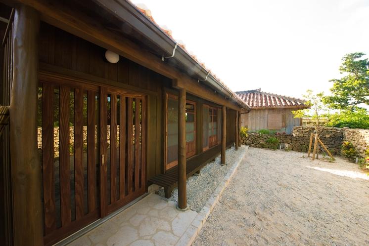 島宿願寿屋・お庭
