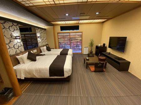 【NEW客室】和美麗 檜露天風呂付客室 31平米