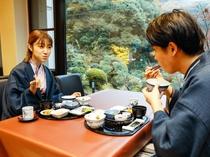 【レストラン】(朝食)
