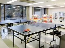 【娯楽室】卓球