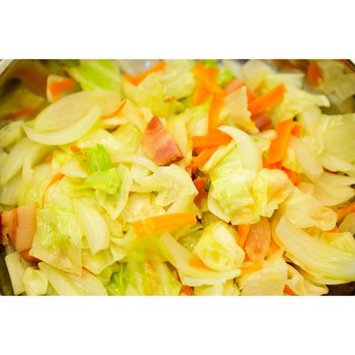 朝食(温野菜)