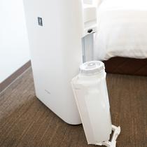 加湿付空気清浄器【衛生上タンクは空】