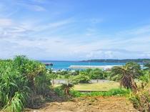 【周辺】施設からの景色!青く輝くコースタルビーチ♪