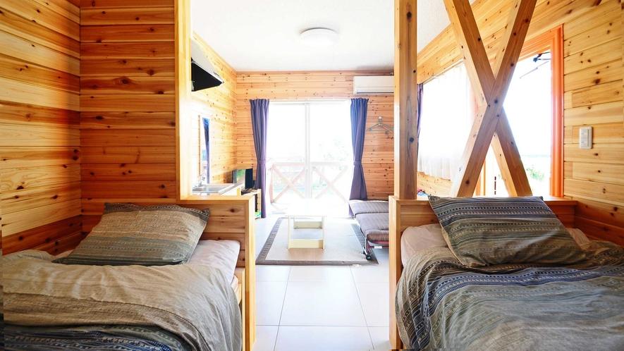 【ツイン】旅の疲れを癒す居心地の良いツインルーム