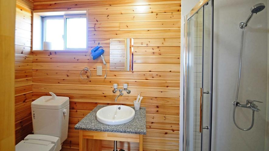 【バストイレ】キレイでシンプルなバスルーム