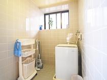【施設設備】洗濯機や掃除機など、連泊に便利な家電製品をご用意しております。