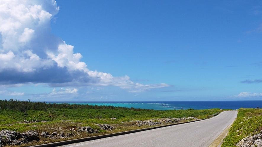 【周辺】西海岸。美しい海岸線が続きます