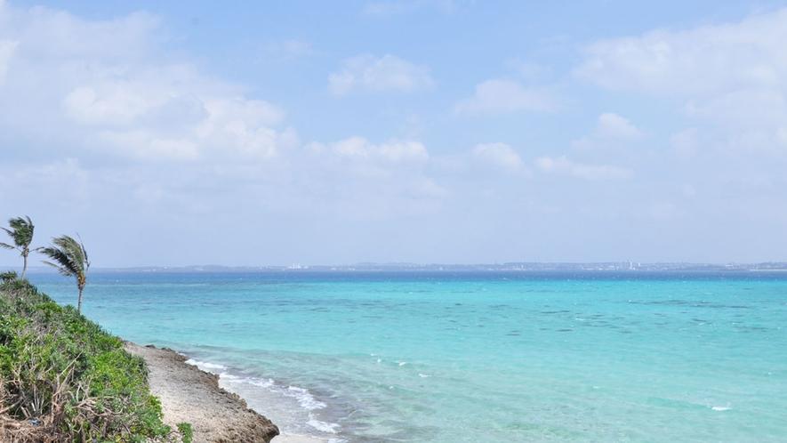 【周辺】伊良部には絶景スポットや日本の渚100選に選ばれている『佐和田の浜』などの魅力がいっぱい!