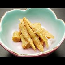 【お料理一例】春・地物筍の和え物