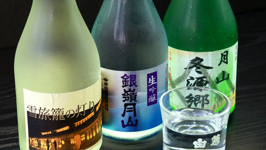 【地酒】館主オススメの地酒もご用意しております。