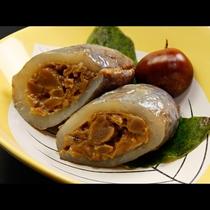 【お料理一例】山形名物アケビ