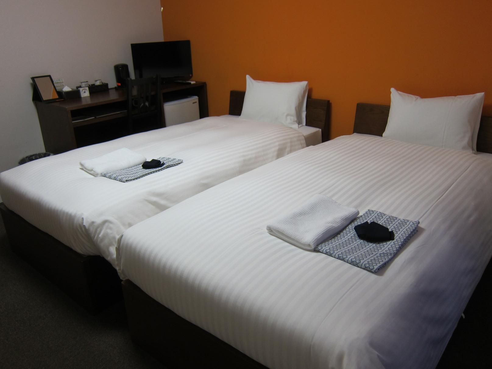 【客室】ツインルーム/同じ部屋タイプでもいろんなデザインで面白い♪