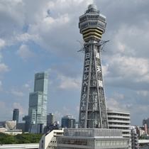 【ホテル周辺】大阪のシンボル◇通天閣◇まで徒歩1分