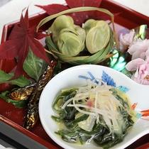 *[ご夕食]前菜(一例)