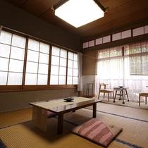 *[部屋]昔懐かしい風情が心地よい和室(一例)