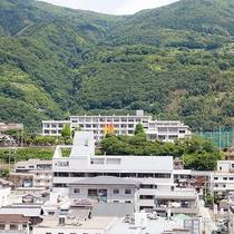 【景色】甲子園でおなじみの阿波池田高校がございます♪