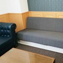 【デラックスツイン】ソファベッドでトリプル利用も可能です