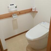 【部屋設備】洗浄機能付きトイレ