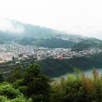 【景色】豊かな自然がすぐそばにある町です。