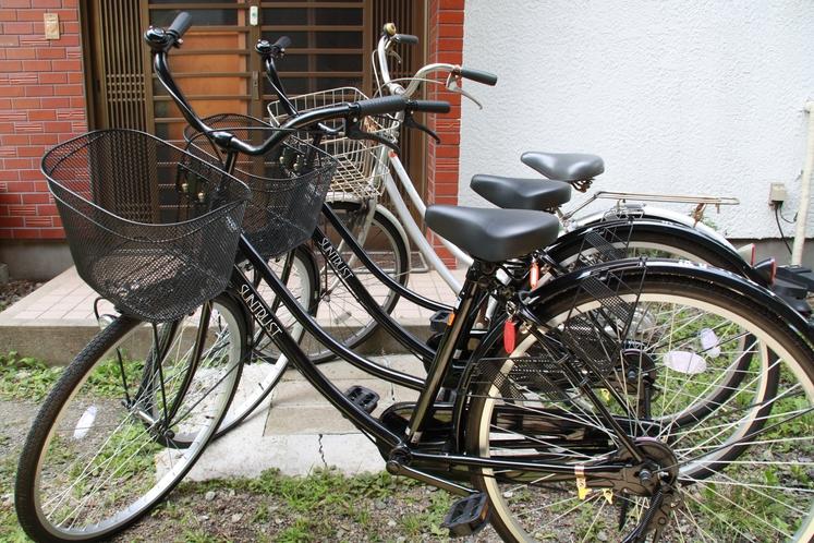 自転車無料レンタル