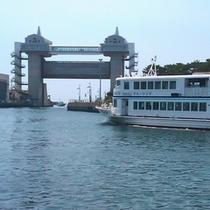 沼津港 水門