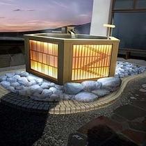 近隣施設ホテルから徒歩5分 天然温泉駿河の湯 露天風呂