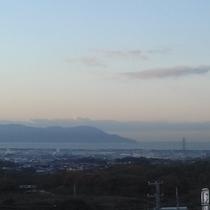5階客室からの眺望 伊豆半島・駿河湾