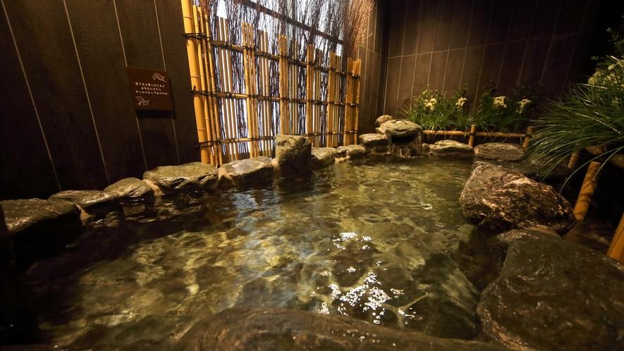【男女】岩風呂外気浴(湯温:41~42℃)