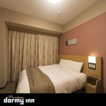 ダブルルーム (14-15平米 ベッド幅:140×195センチ)