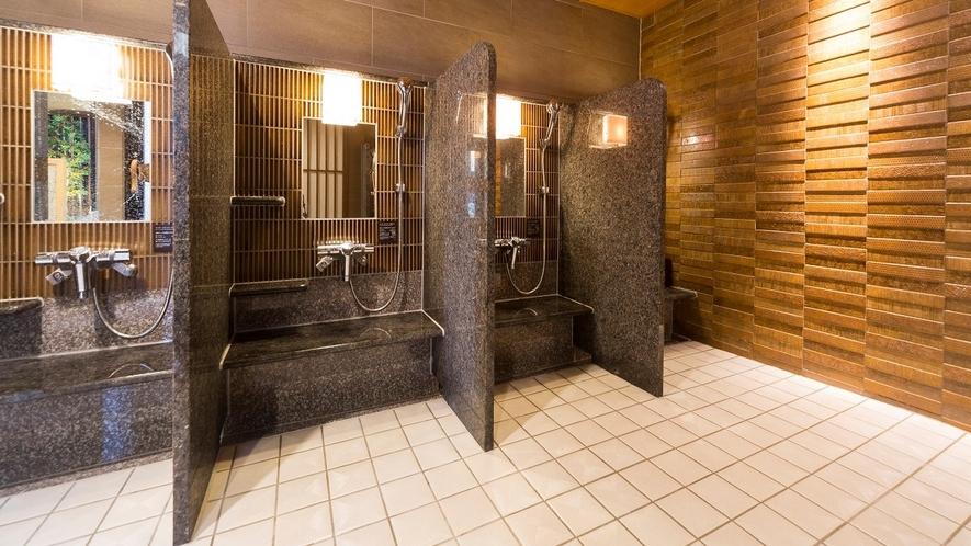 ◆洗い場(男性大浴場)