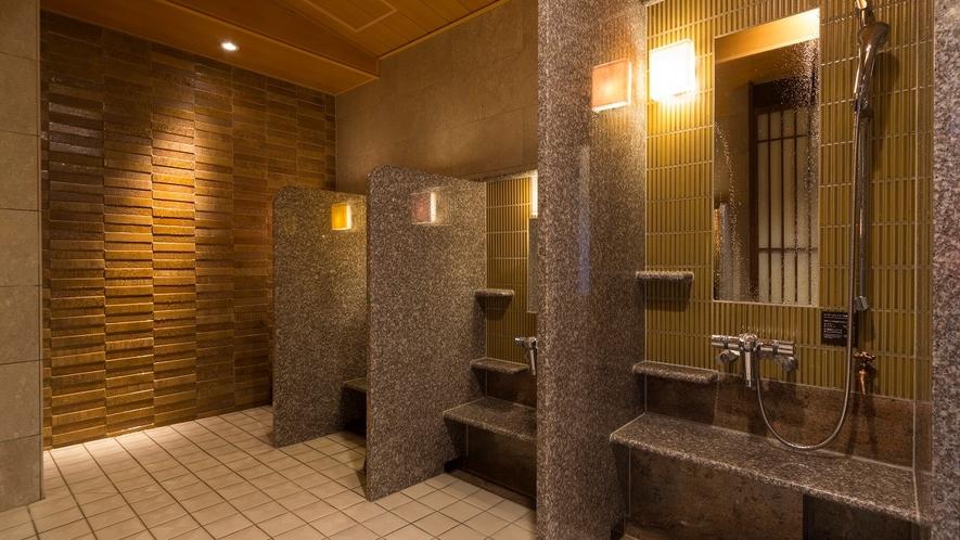 ◆洗い場(女性大浴場)
