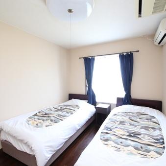 【7号室or10号室】 洋室ツインルーム<オーシャンビュー>