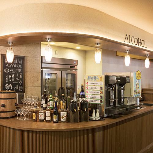 ■アルコールカウンター(セルフサービス方式)