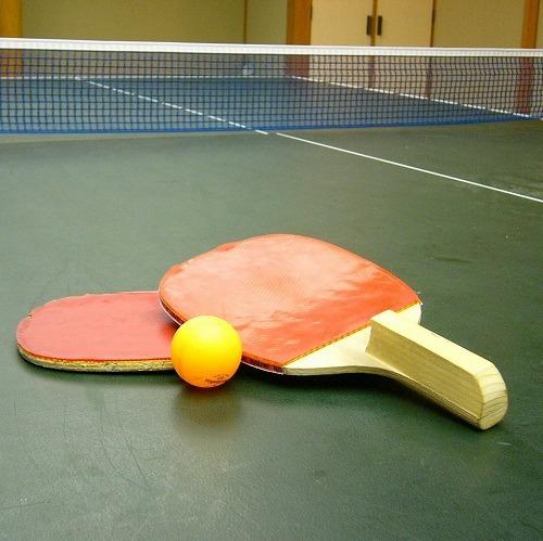 ■わいわい楽しく温泉卓球をしよう!