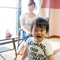 ■ミキハウス「ウェルカムベビーのお宿」認定、赤ちゃん連れでも安心です。