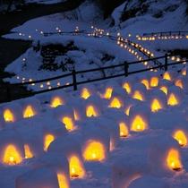 ■湯西川温泉 かまくら祭り