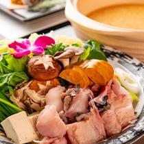 ■あんこう鍋<結坐>旬の高級魚あんこうを使用した旨味たっぷり鍋(19/12/2~20/2/29)
