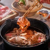 ■たっぷりキノコのすき焼き<結坐>(2019年9月7日~12月1日)