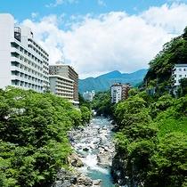 鬼怒川温泉ホテル全景