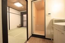 浴室付和室