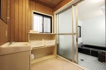 館内大浴室脱衣所