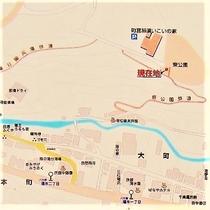 東公園散策路地図