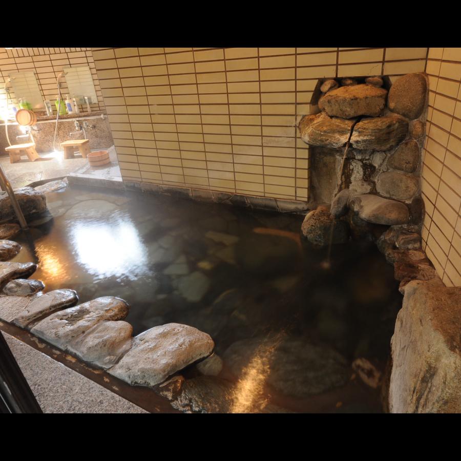 ◆内風呂:三名泉の名湯をご堪能ください
