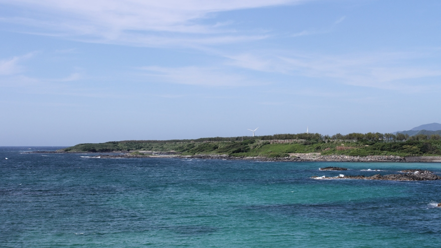 *美しい海と空に囲まれて休日をお過ごしください