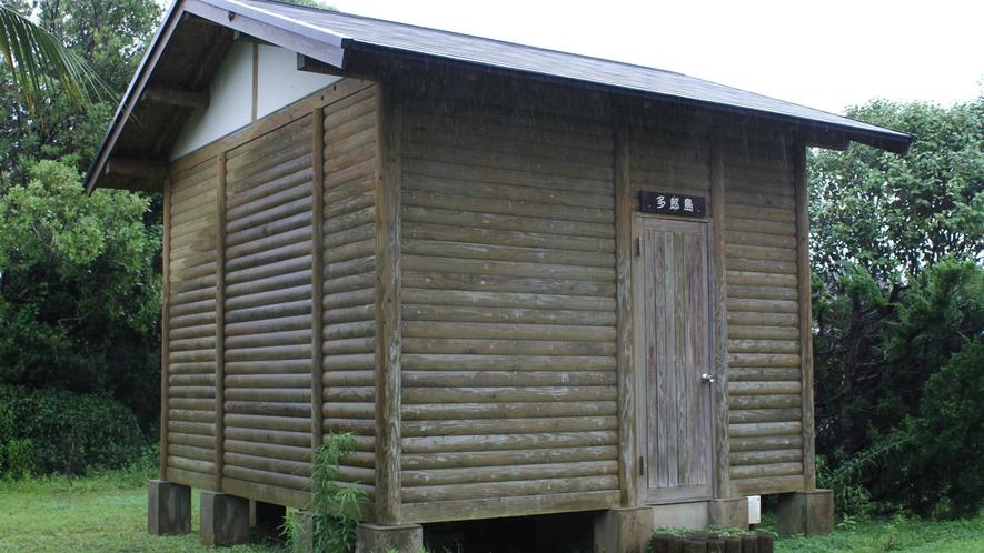 *ケビン外観一例 ※トイレ・バス・寝具なし(キャンプ熟練者用)