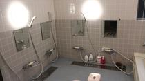 *研修棟には共同浴場を完備しております