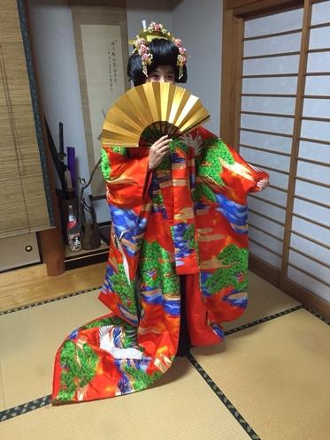 花嫁体験しませんか?(¥1500~)