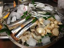 バーベキューコース用海鮮