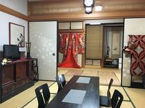客室(6畳×2 和室)